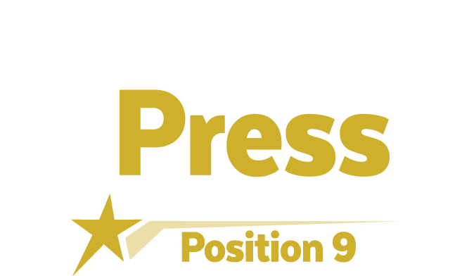 Headline that reads 'Events and Press'